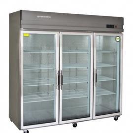 乘风冷柜LSC-1800 三玻璃门保鲜展示柜 商用冷藏柜
