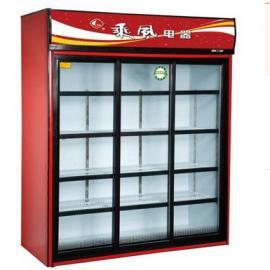 乘风冷柜/移动三门展示柜LSC-1500 冷藏保鲜展示柜