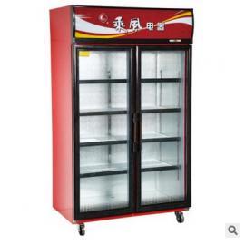 乘风冰柜LSC-1000 二门食冷藏展示柜 酒水饮料展示柜