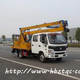 国五福田14米高空作业车