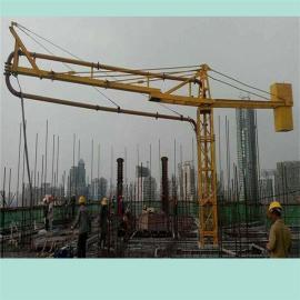 阳泉混凝土布料机/厂家/价格/15米/电动/手动/内爬式