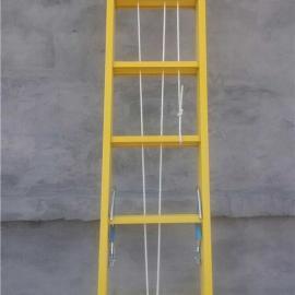 淮安玻璃钢绝缘伸缩单梯 厂家价格直销绝缘梯
