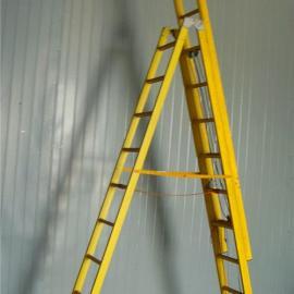 宜兴绝缘伸缩合梯 绝缘人字单升降梯