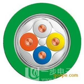 西门子绿色4芯网线电缆