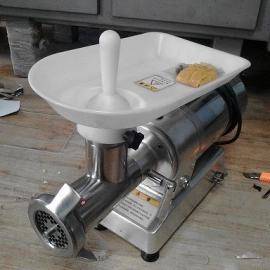台式大功率绞肉机厂家批发 冷鲜肉绞肉机进口刨刀