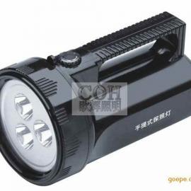 手提式防爆探照灯,手提式强光探照灯,手提式LED防爆灯