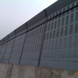 玉门市交通声屏障 高架隔音屏 圆孔吸声板