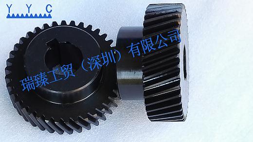 台湾YYC精铣齿轮 精铣发黑齿轮 防锈齿轮