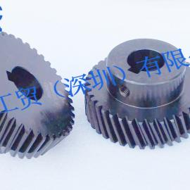 台湾YYC精铣发黑齿轮 10级精度齿轮 斜齿齿轮