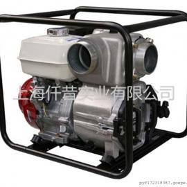 本田GX390 6寸汽油污水泵防汛排水灌溉排污泥�{泵