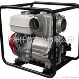 本田WP40污水泵防汛排水排污灌溉4寸GX270汽油泥�{泵
