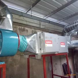 山东纺织印染厂定型机废气处理方案