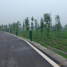 江苏无锡锡山景区五索涂塑缆索护栏,绳索护栏厂家