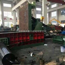 江阴半自动报废汽车打包机。废钢打包机,汽车压边机