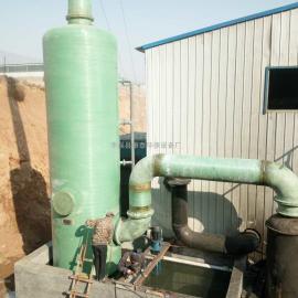 10吨燃煤锅炉烟气脱硫除尘设备(除尘器 脱硫塔)