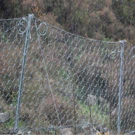 六安合肥高速边坡施工主动防护网工程六万平米GPS2型挂网