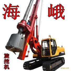 基建工程卵石层钻桩履带打桩机制造商