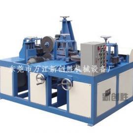 方管自动打磨机,不锈钢方管自动磨砂机 方管自动砂带抛光机
