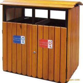 深圳现货仿古垃圾桶 步行街垃圾桶组合【道路垃圾桶制造厂】