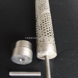 绕线滤芯骨架 冲孔管 不锈钢 钛 碳钢 铁