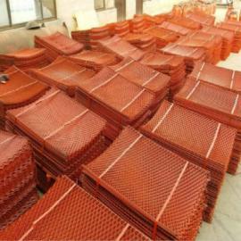 两边焊接涮漆钢笆网-工地预定钢笆3万张-脚手架钢笆片