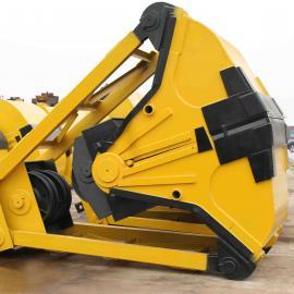 U99 0.5立方配5吨起重机用四绳抓斗,抓沙斗,抓煤斗