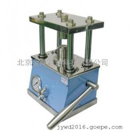 小型液压纽扣电池封装机 型号:MSK110