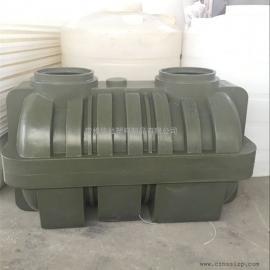 厂家定制款1.5吨塑料化粪池一体化粪池三格化粪池滚塑工艺