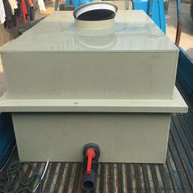 上海厂家制作加工PP槽塑料酸洗池热水槽酸碱槽PVC防腐槽