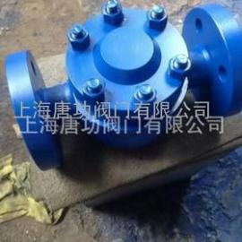 唐功KRF3法兰高压圆盘式蒸汽疏水阀 高温高压不锈钢铬钼钢