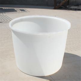 500L塑料圆形腌制桶 500Lpe敞口圆桶