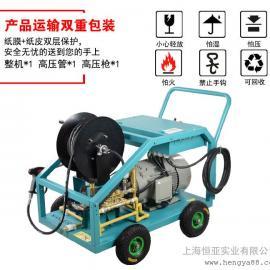 ws500-22工业超高压清洗车机设备剥树皮除锈泵
