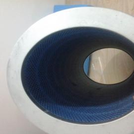 复烤卷烟厂覆膜无纺布除尘滤芯滤筒 除尘器反吹滤芯