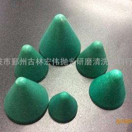 厂家供应优质树脂磨料 树脂研磨抛光石 多型号圆锥形树脂磨料