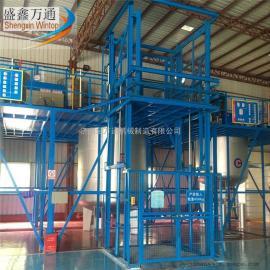 厂家供应武汉市金万通牌链条式升降机电动载货升降机厂房货梯
