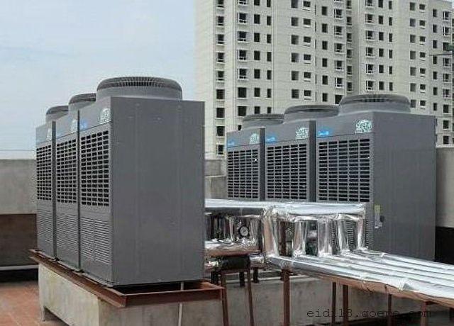 杭州美的空气能热水工程