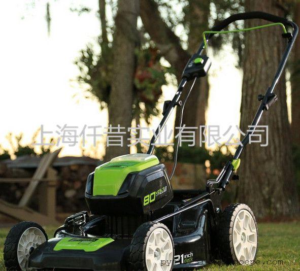 格力博40V锂电充电草坪机 割草机剪草机园林绿化专用