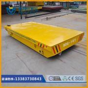 钢构件转运车重物搬运车动力牵引车电动轨道运输车