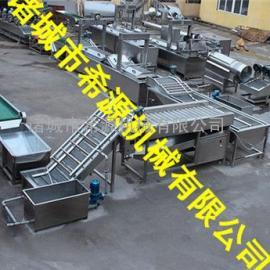 全自动生产线供应薯片油炸机价格 薯片油炸流水线