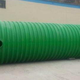 厂家直销优质玻璃钢化粪池@玻璃钢罐@污水处理设备
