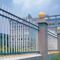 梅州锌钢护栏 别墅围墙栅栏 新式铁栅栏 铁艺栏杆 阳台护栏