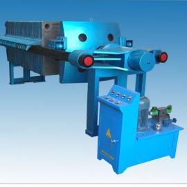 供应铸铁手动压紧板框压滤机、铸铁液压压紧板框式压滤机