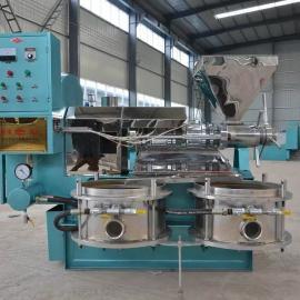厂家力荐商用光华螺旋榨油机 榨油机多种型号现场试机