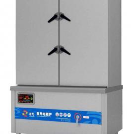 电磁双门双控蒸饭柜价格优质海鲜三门柜