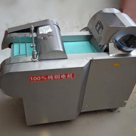 大型工地专用切菜机 自动进料切片机 土豆切丝机价格