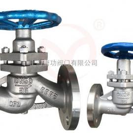 唐功U41SM-16P不锈钢柱塞阀 蒸汽锅炉专用柱塞阀