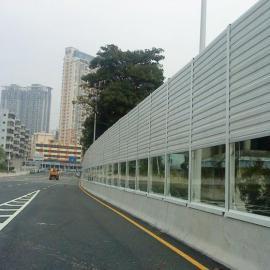 义乌市金属声屏障价格 高速路隔音板