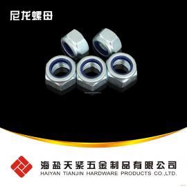 现货供应DIN985 DIN982尼龙螺母8级10级M10