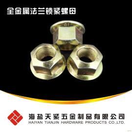 压点锁紧螺母,法兰螺母 GB6187 DIN6927