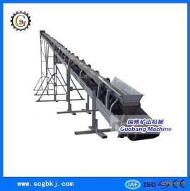 供应带式输送机 V型皮带式输送机 铁矿、煤炭用输送设备